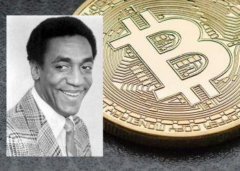 Pixabay.com / Bill Cosby, Bitcoin mashup