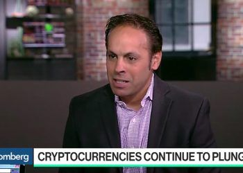 Bloomberg / Bitpay's chief commercial officer, Sonny Singh