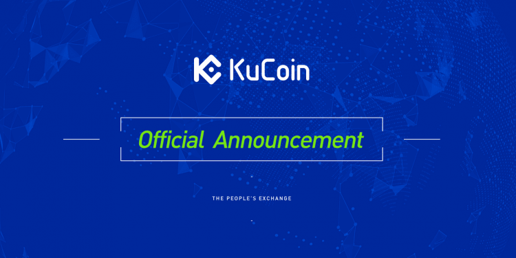 KuCoin Official Announcement