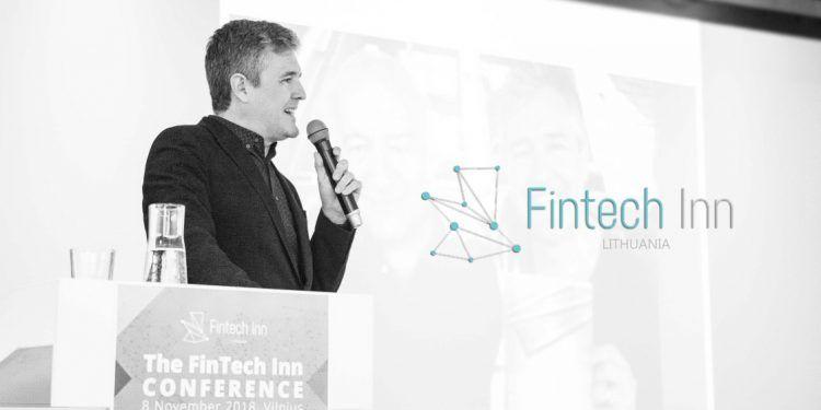 RegTech Expert Juan Llanos at FinTech Inn Conference, Vilnius, Lithuania / Image via Hodlfinance.io