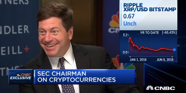 SEC chairman on cryptocurrencies and investing / CNBC