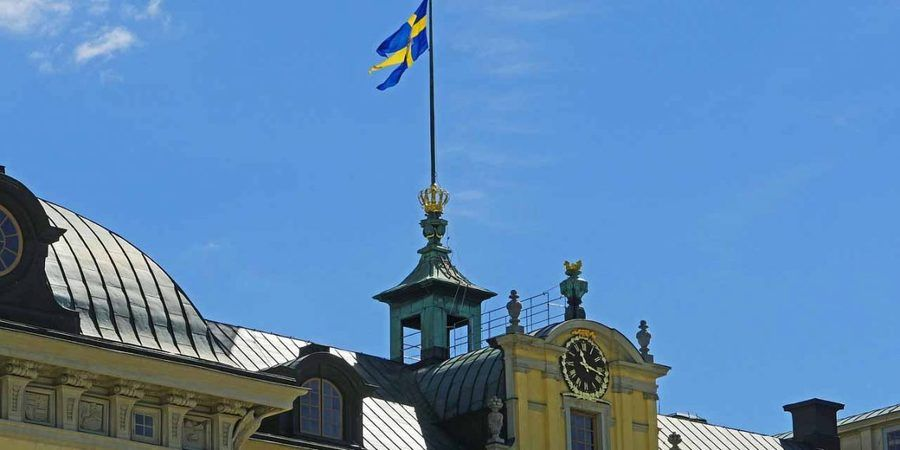 hpgruesen / Pixabay.com / Royal flag, Sweden