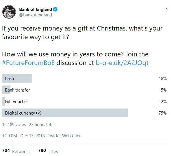 A Bank of England Twitter image.