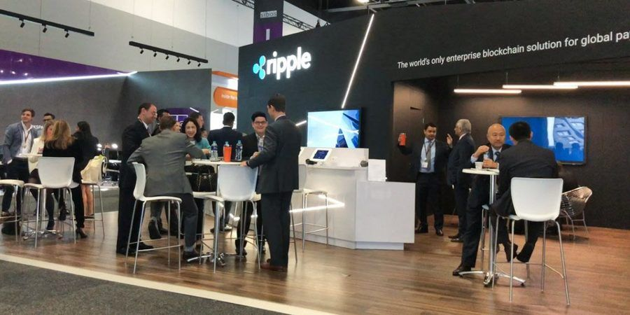 Ripple Team attending Sibos Event 2018 / Ripple Twitter Photo
