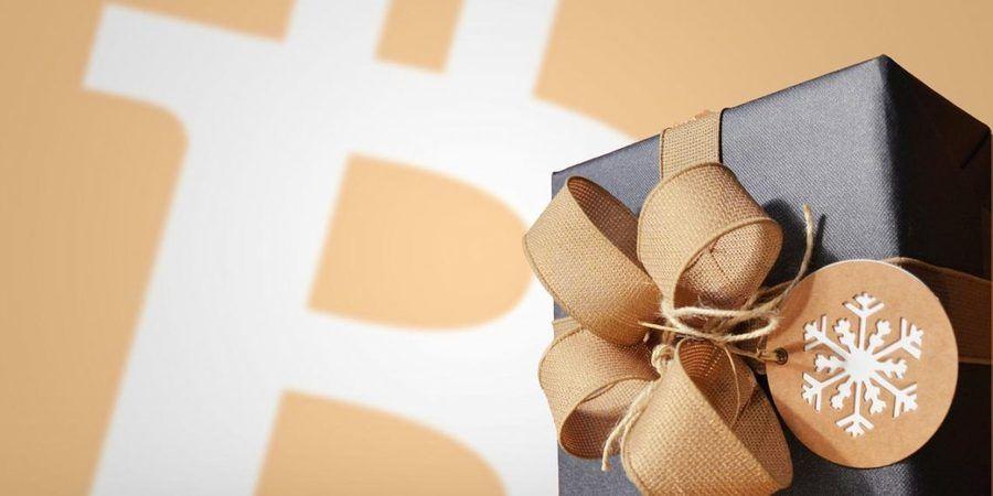 Bitcoin, Christmas Gift / Edited Pixabaycom photo