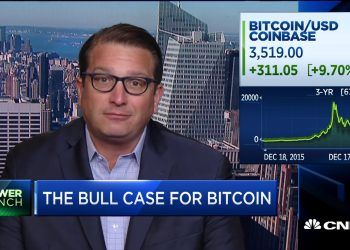 The Bitcoin Bottom is Near, Declares Brian Kelly / CNBC Youtube photo.
