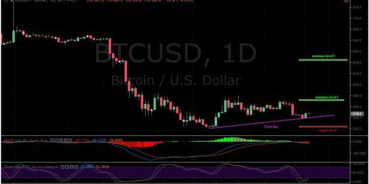 BTC/USD 1D Chart / Bitfinex / Bitcoin Price Analysis
