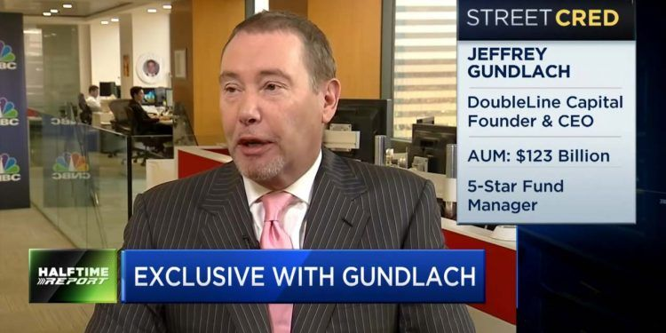 DoubleLine's Jeffrey Gundlach / CNBC Halftime Report Youtube Screenshot
