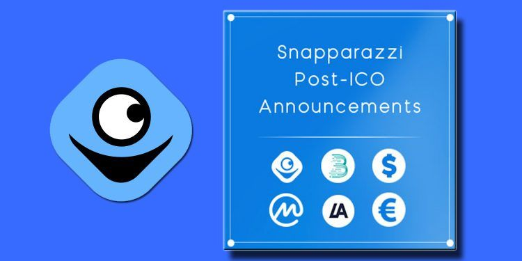 Snapparazzi post-ICO announcements