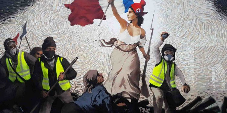 Pascal Boyart Fresco in Paris / Twitter image