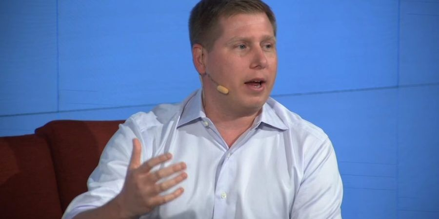 Crypto: What's The Status? (Barry Silbert & David Kirkpatrick) | DLDconference New York 18 / DLDconference Youtube Video Screenshop