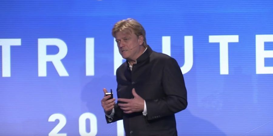 Distributed 2018: Keynote Address with Patrick Byrne, Overstock.com/tZero / Distributed Youtube screenshot