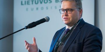 Chairman of the Board of the Bank of Lithuania, Member of the Governing Council of the European Central Bank / lb.lt Photo