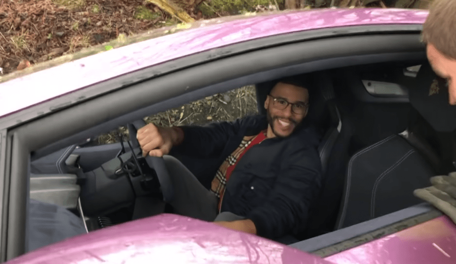 Bitstocks CEO Crashes His $500k Lambo in a Ditch After Spinning Off a Road 2