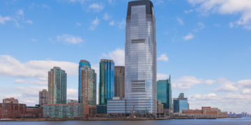 Goldman Sachs Tower, Jersey City in New Jersey -USA