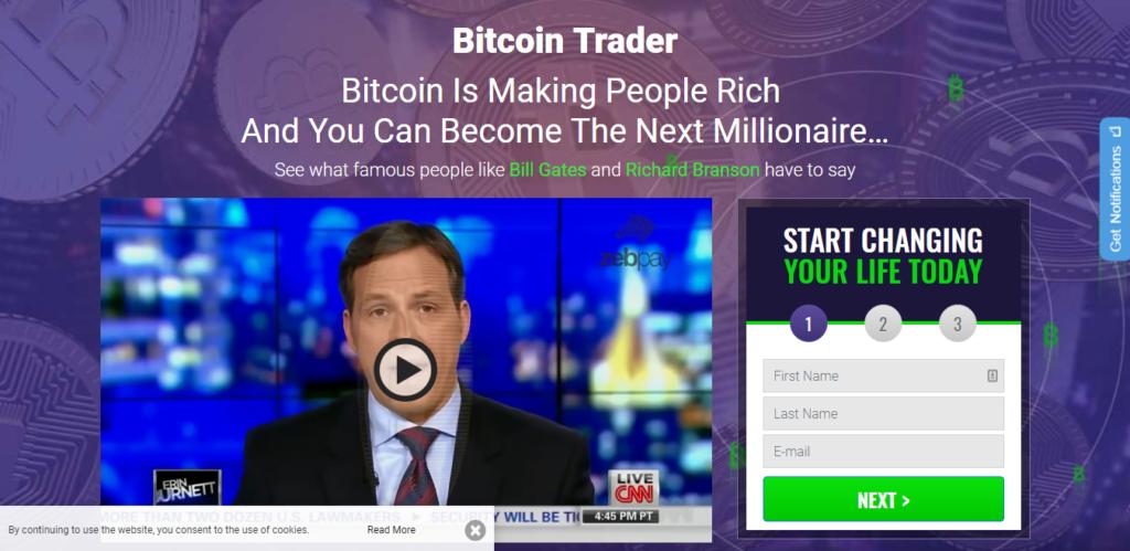 bitcoin trader 250 indėlis