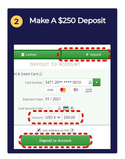 Crypto Legacy Pro Deposit