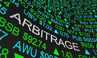 How to arbitrage trade crypto