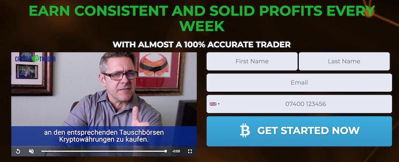 Crypto CFD Trader registration