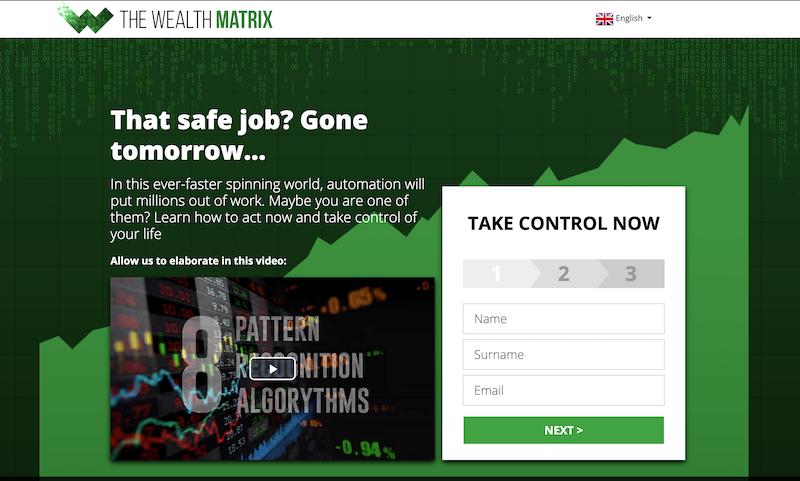 Wealth Matrix Homepage