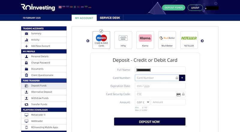 Bitcoin Millionaire Pro Deposit