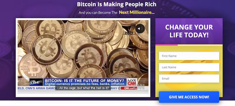 Registro do Bitcoin Pro
