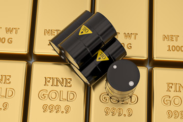gold stumbles as risk appetite awakens slightly after oil gained
