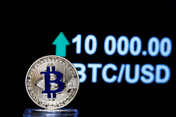 Bitcoin testing $10K as halving approaches