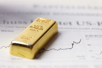 gold is looking up heading to all-time highs
