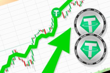 Tether's (USDT) Market Cap Reaches $50B, Stablecoin Adoption Thriving
