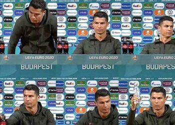 Cristiano Ronaldo's Comments Reportedly Cost Coca-Cola $4 Billion Loss