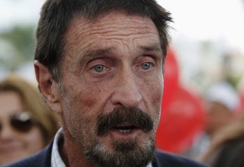 Imprisoned John McAfee Says He Lost All His Crypto Fortune